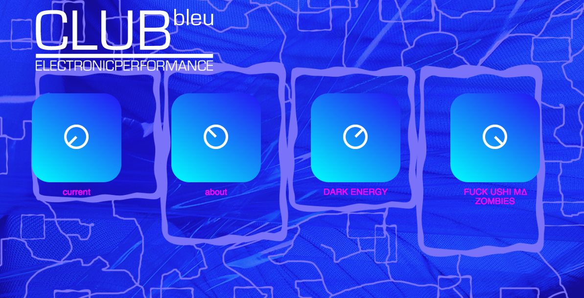 CLUBbleu homepage